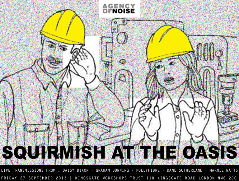 Skirmish at the Oasis -FLYER WITH TEXT