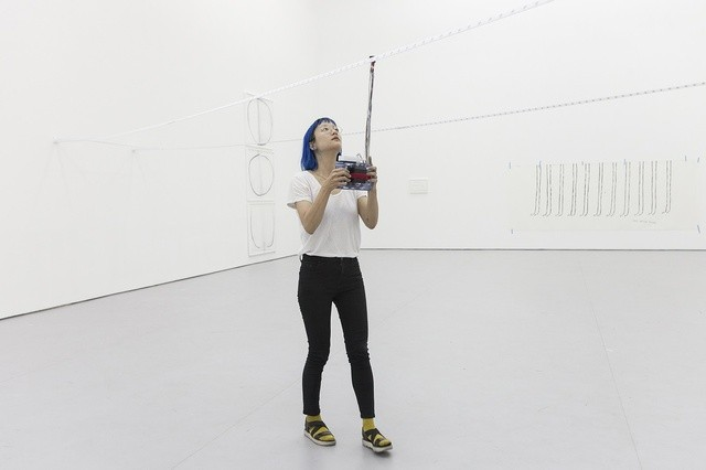Christine Sun Kim Rustle Tustle